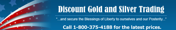 Discount Gold and Silver Trading